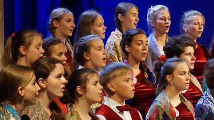 Большой детский хор имени Попова
